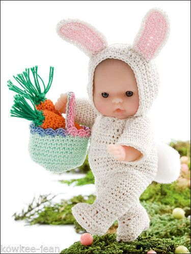 Crochet Pattern Baby Doll Clothes : Holiday itty bitty 5