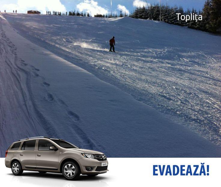 Sunt multe locuri superbe, în țară, unde se poate schia. Unul dintre ele pârtia Bradul din Toplița. Cine a încercat-o?