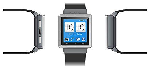 Indigi UNLOCKED! Android 4.4 Smart Watch Cell Phone GSM 3G+WiFi GPS Google Play Store Smart Watches Unlocked Smartphone   Android Smart Phone Watch featuring a 1.54 Inch Touch Screen Display that even has a Camera plus it can deliver a great performance due to having a Dual Cor