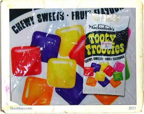 tooty frooties / childhood / remember this / onthou/ kinderdae / chewy sweets