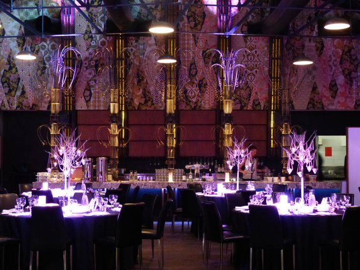 Showtime Events Centre - South Wharf, Melbourne. Beautiful room with permanent marble bar area. #MelbourneWeddings