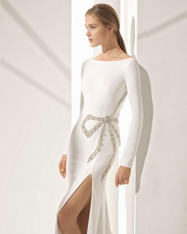 Catalogo vestidos de novia rosa clara 2019