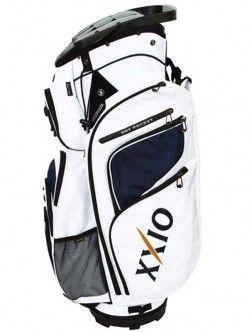 Bolsa de golf XXIO Cart Bag 2014 Bolsa para palos de golf XXIO para carro, tiene 14 separadores individuales hasta la base, varios bolsillos, uno de ellos grande para llevar la ropa, otro para llevar los objetos de valor, uno para las bebidas, otro para las bolas de golf y demás accesorios.