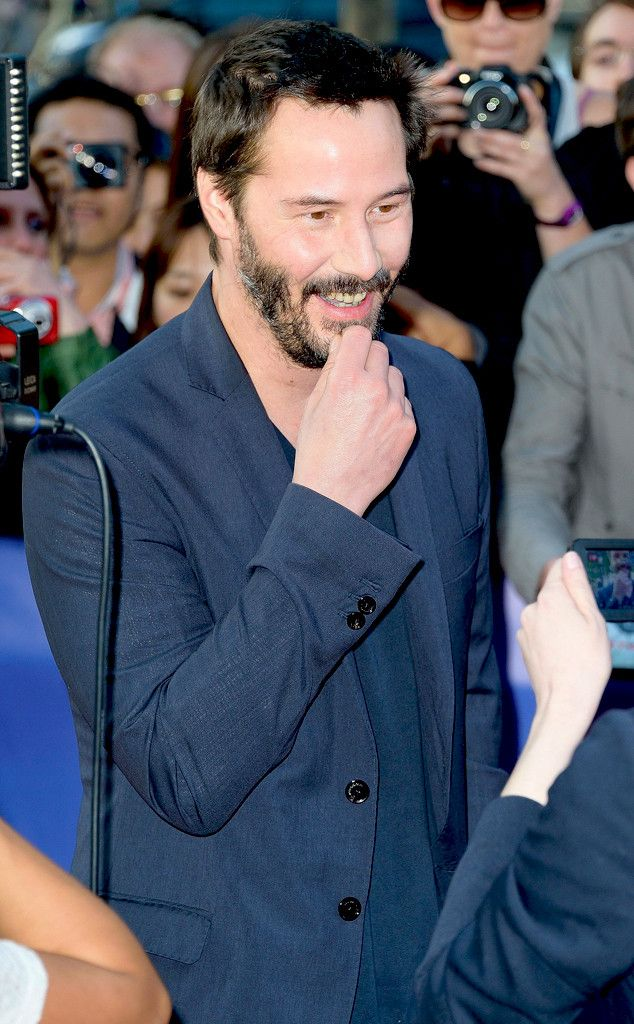 """Keanu Reeves Talks """"Really Scary"""" Home Intrusions, Friendship With Sandra Bullock and More!  Keanu Reeves"""