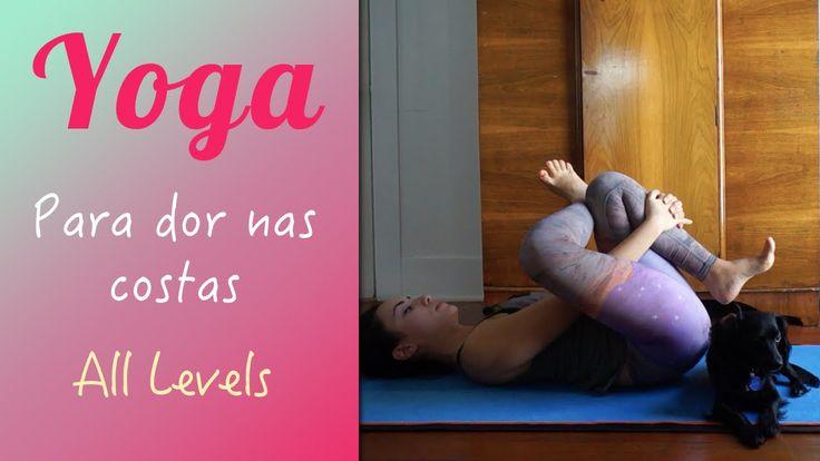 Yoga para dor nas costas - Yoga no canal da Pri