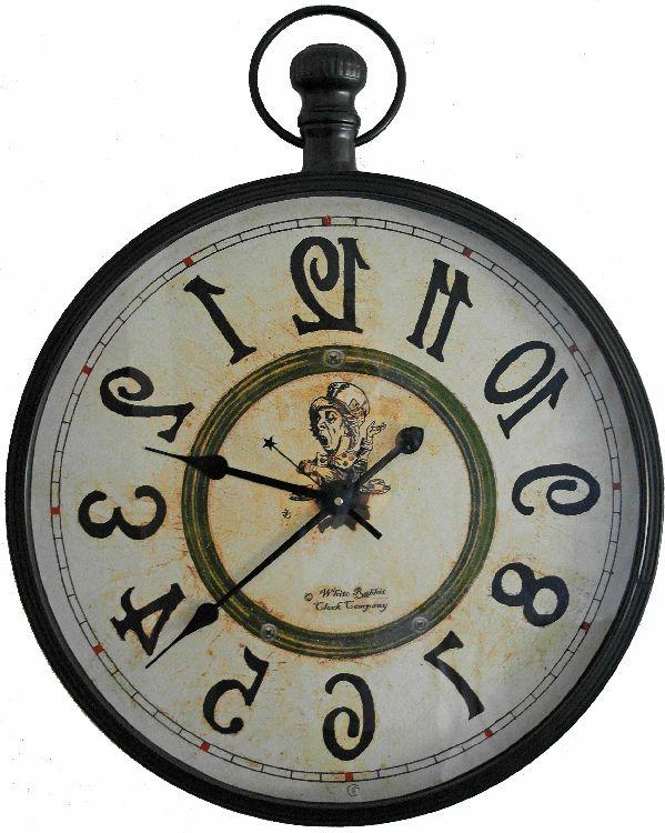 41 Best Images About Alice In Wonderland Backwards Clock On Pinterest Caterpillar