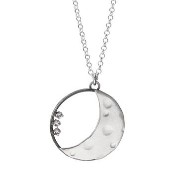 Look what I found at UncommonGoods: Personalized Crescent Moon Necklace for $110.00 - 125.00