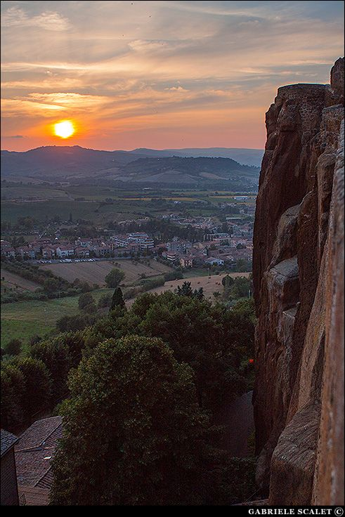Panorama from Orvieto | Gabriele Scalet Photography