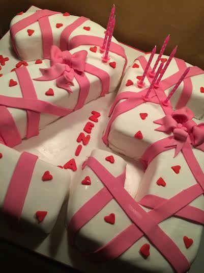 25 Number Birthday Cake