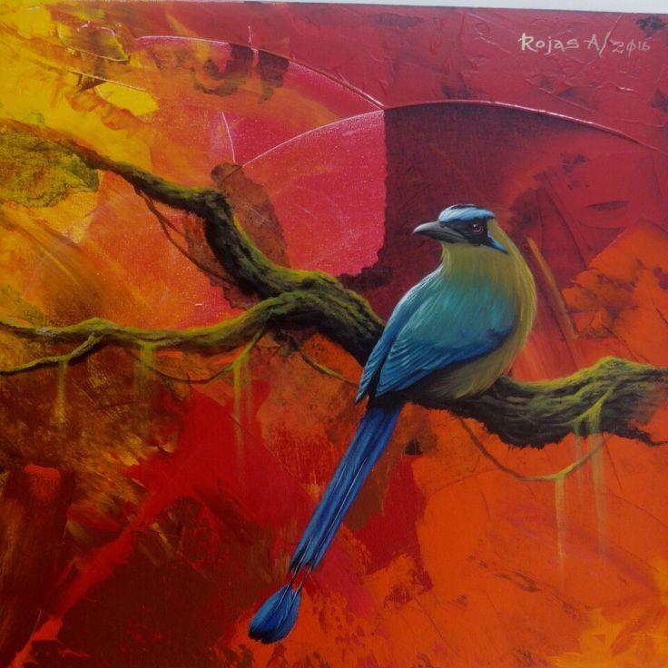 #Art #Acrylic #Painting #barranquero #RojasA