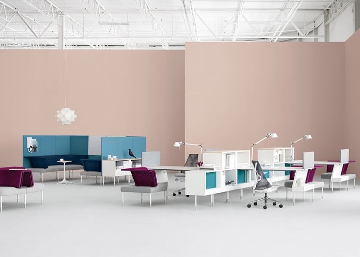 Herman Miller Office Design Extraordinary 42 Best Living Office Space Images On Pinterest  Green Office . Design Decoration