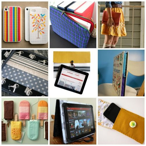 10 DIY Covers for Your Laptop, Tablet, and Phone