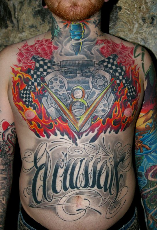 Small Engine Tattoo: 17 Best Images About CHEVY TATTOO IDEAS On Pinterest