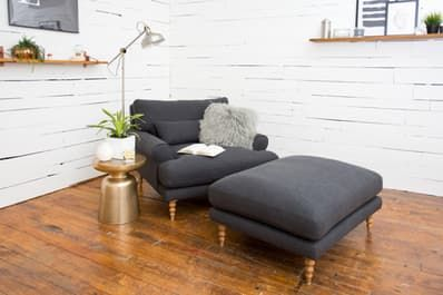 Earlier this year, Maxwell debuted his furniture collaboration with Interior Define—and introduced us to his version of the perfect sofa. The collection just got a little bigger (and smaller): the Maxwell is now available as an apartment-sized sofa, chair, and ottoman.