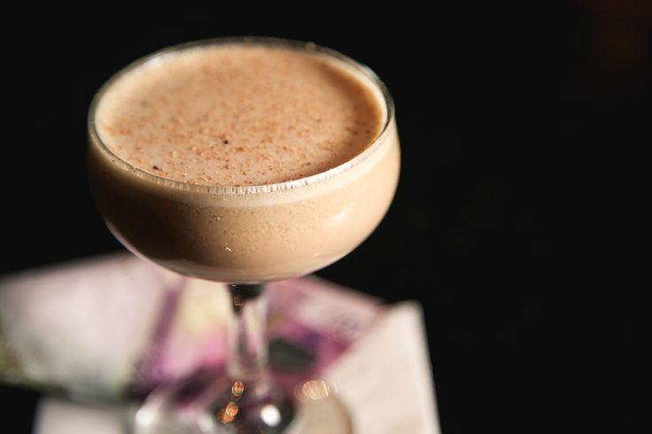 Financial District Flip  Havana Especial Rum Baileys Irish Cream Mulled Port Vanilla House bitters Egg  #Flip #Egg #cocktails #cocktail #bar #drinks #Rum #Port #OrchidAberdeen #Irishcream #Scotland #Aberdeen #DeadRabbitInspired