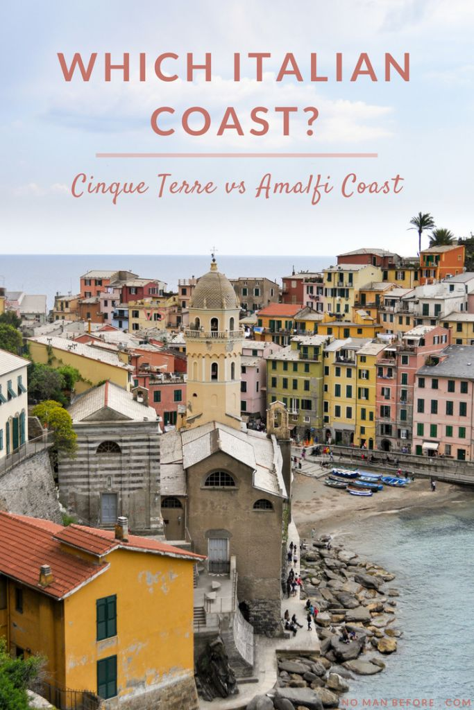 Which Italian Coast? Cinque Terre vs Amalfi Coast | We've been to both, so here are the pluses (and a few minuses) of each stunning coast.