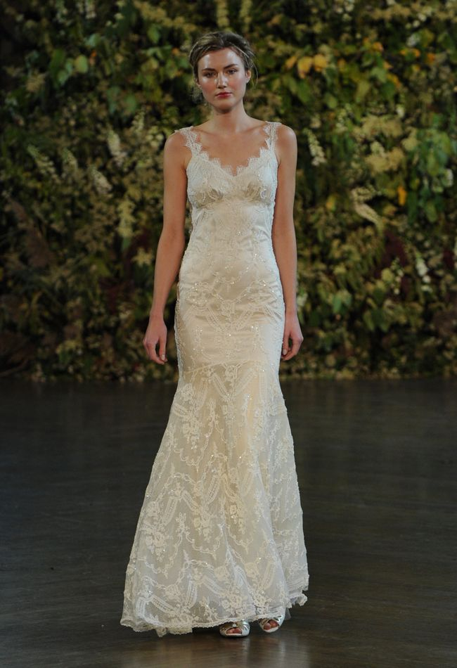 Lace Wedding Dress   Claire Pettibone Wedding Dresses Fall 2015   Kurt Wilberding   blog.theknot.com
