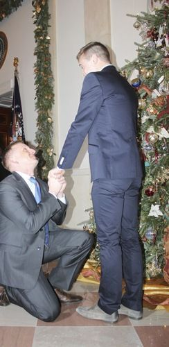 Gay Marine's Marriage Proposal at the White House Makes History