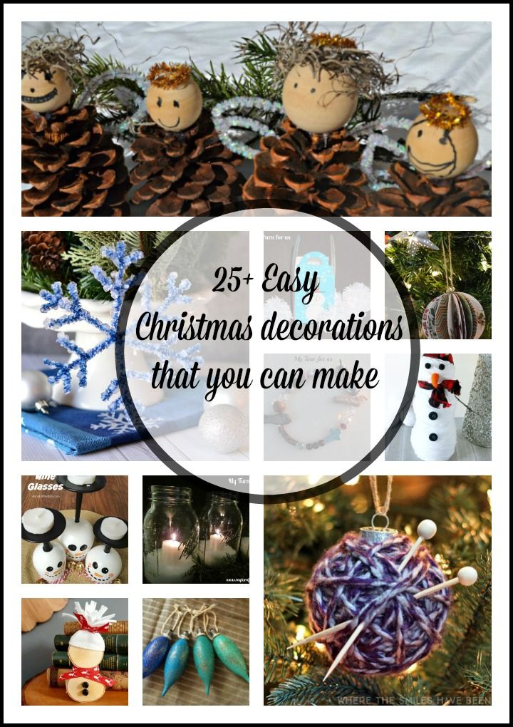 25 Easy Christmas Decorations That You Can Make To Get