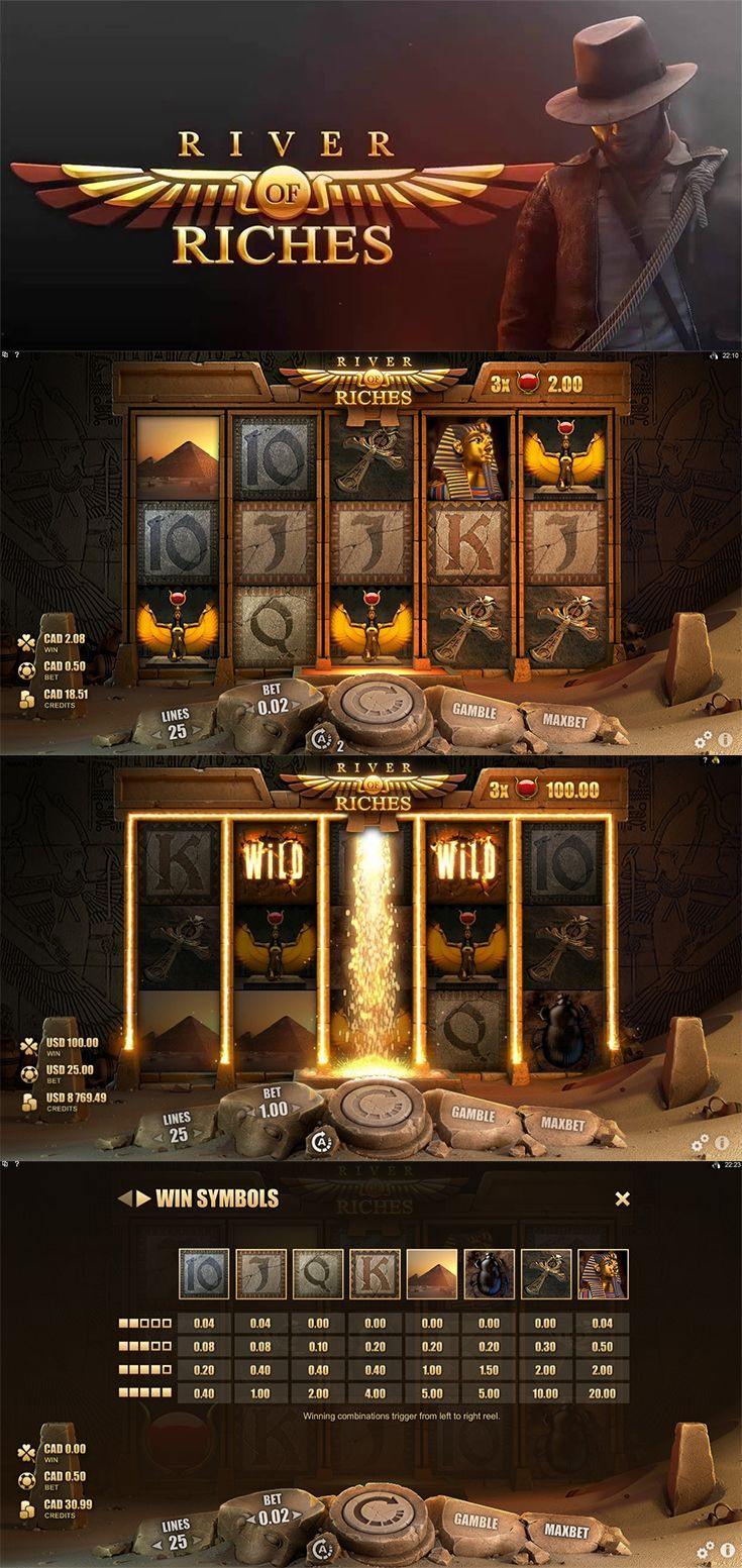Uncover hidden treasures and play the River of Riches slot for free at The SpinRoom!  --  #FreeSlot #OnlineSlot