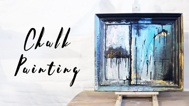 Chalk paint - Kindness doesn't cost a damn thing - Speedpainting