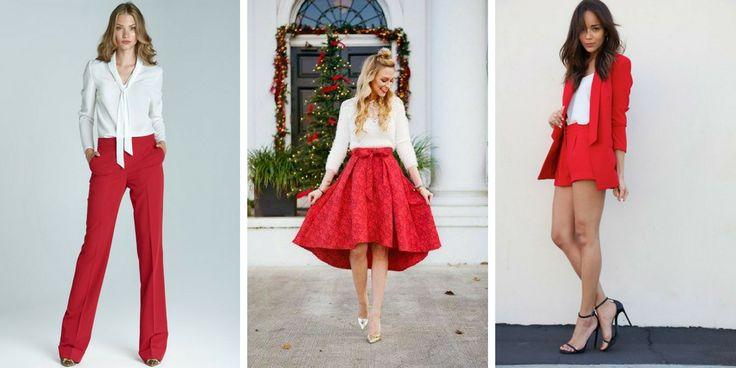 31 Ideen, um das beste rot-weiße Outfit zu kreieren