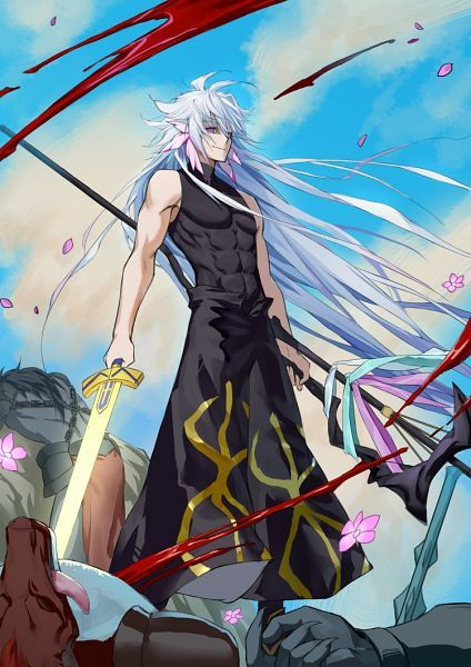 Merlin Fate Go With Images Anime Warrior Fate