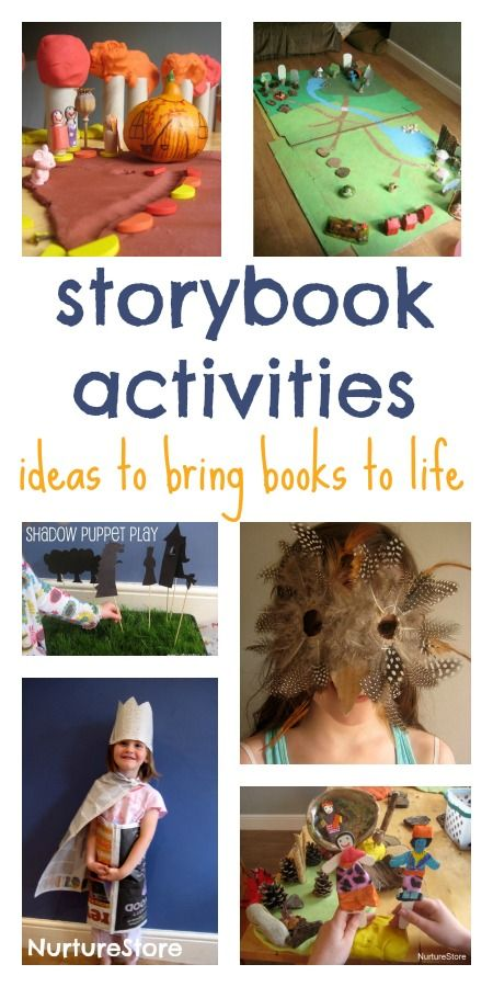 Storybook activities :: an excellent resource for bringing books to life | NurtureStore :: inspiration for kids