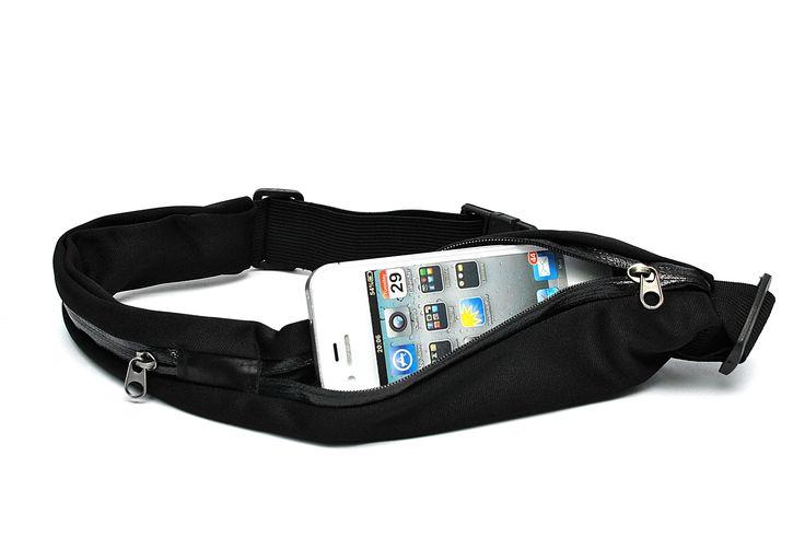 Black Unisex Super Light Weight Sports Running Waist Pouch Bag Pocket Belt with two pockets for store Smartphone/Keys/Wallet etc. Sports Waist Pouch Bag. Running Waist Pouch Bag. Waist Pouch Bag. Pocket Belt Pouch Bag. Packages: qzoxx package of waist bag.