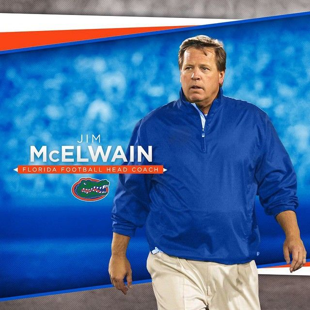 """@gatorzonefb's photo: """"#GatorNation, please welcome our new head coach: Jim McElwain! Check GatorZone.com for more info."""""""