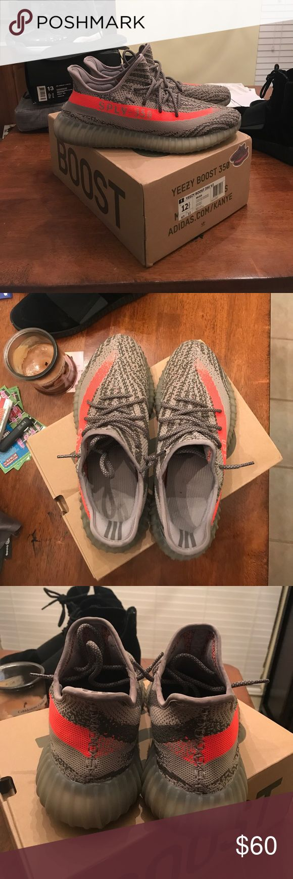 yeezy 350 boost Beluga bought these about a year ago, only worn 3 times. Really good rep. Comes with box and receipt from Footlocker. I've got nothing but compliments from everyone at school adidas Shoes