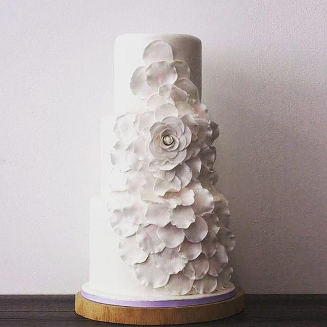 Afgelopen zaterdag voor de bruiloft van Y&P hun bruidstaart mogen maken met één grote waterval bloem. Hun taart is gemaakt van vanille biscuit met roodfruit compote en fluweelzachte marshmallow-meringue vulling. Enne, de bruidstaart is bijna 60 cm hoog!  http://gelinshop.com/ipost/1521759032284458846/?code=BUeX8b5Dq9e