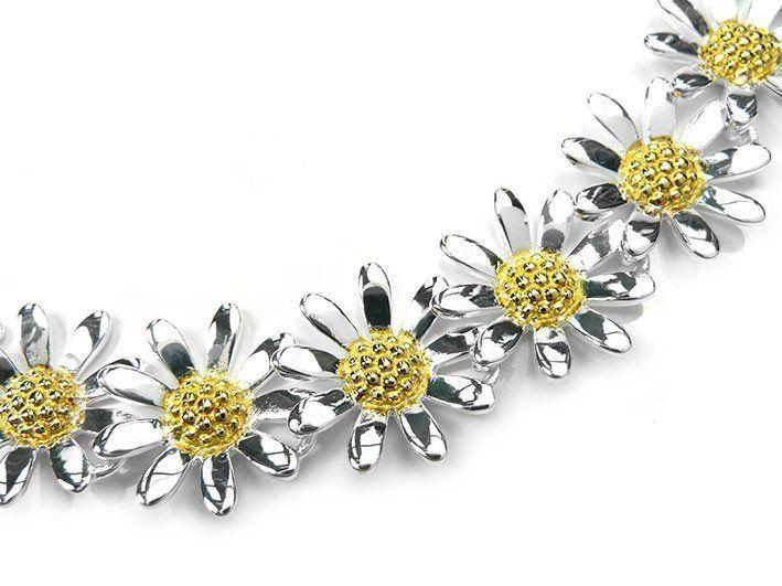 Silver Bracelet - Daisy Chain