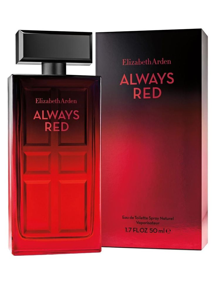 BEM-VINDO AO E.S.P FASHION BLOG BRASIL: Elizabeth Arden Always Red