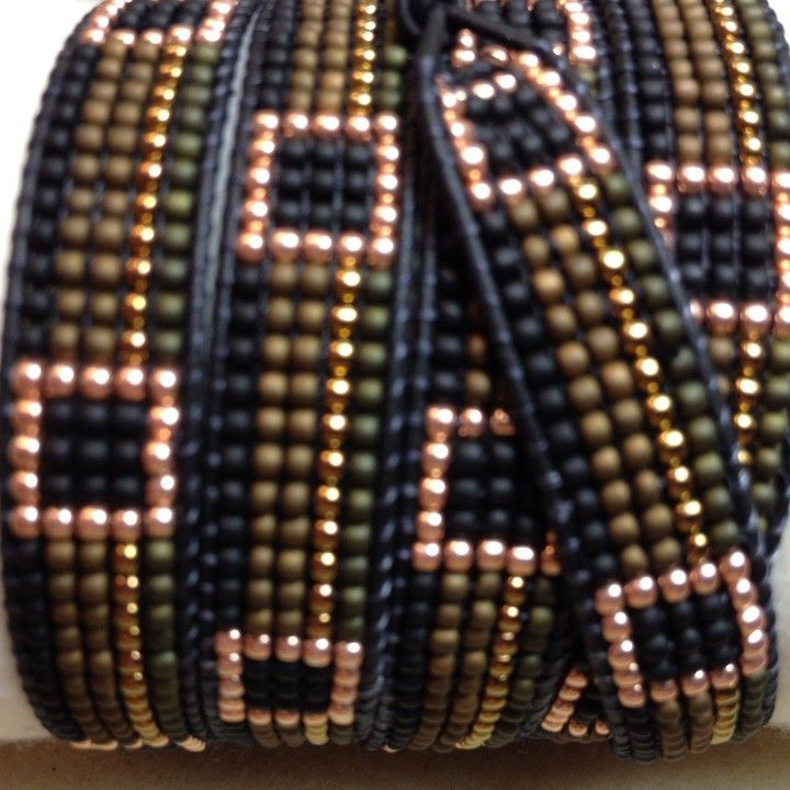 Autumn Ribbons from TweedleBead for $95.00  More awesome bracelets!