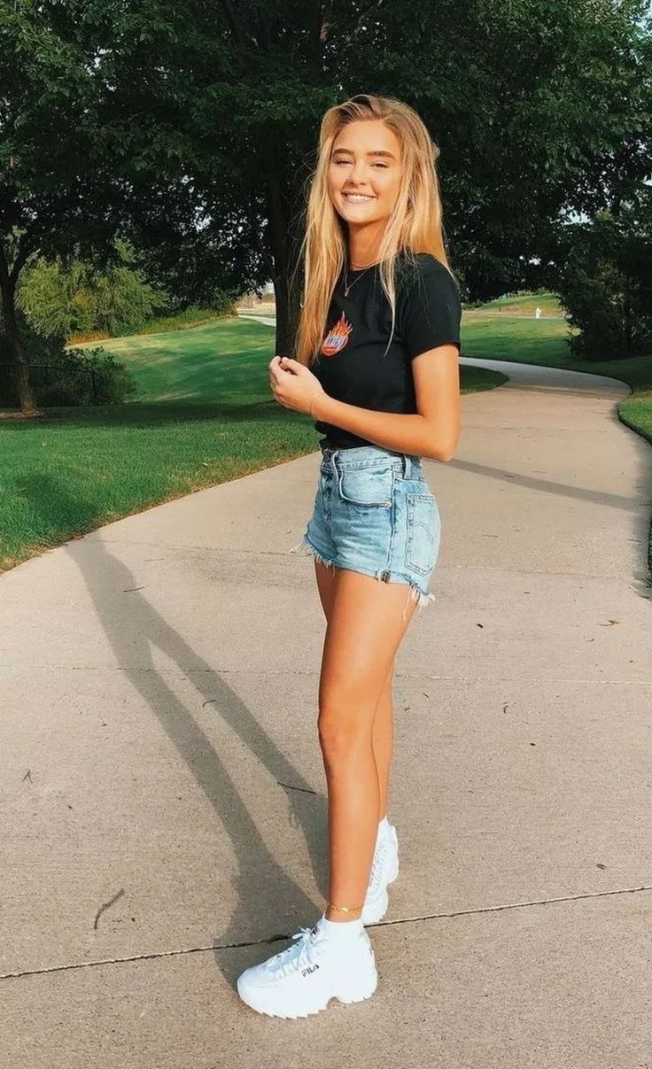 Spring Casual Cute Outfits For Girls