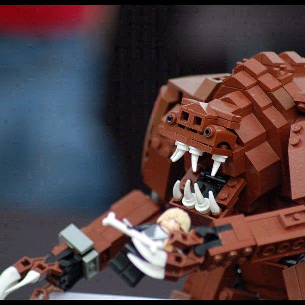 LEGO Rancor #StarWars