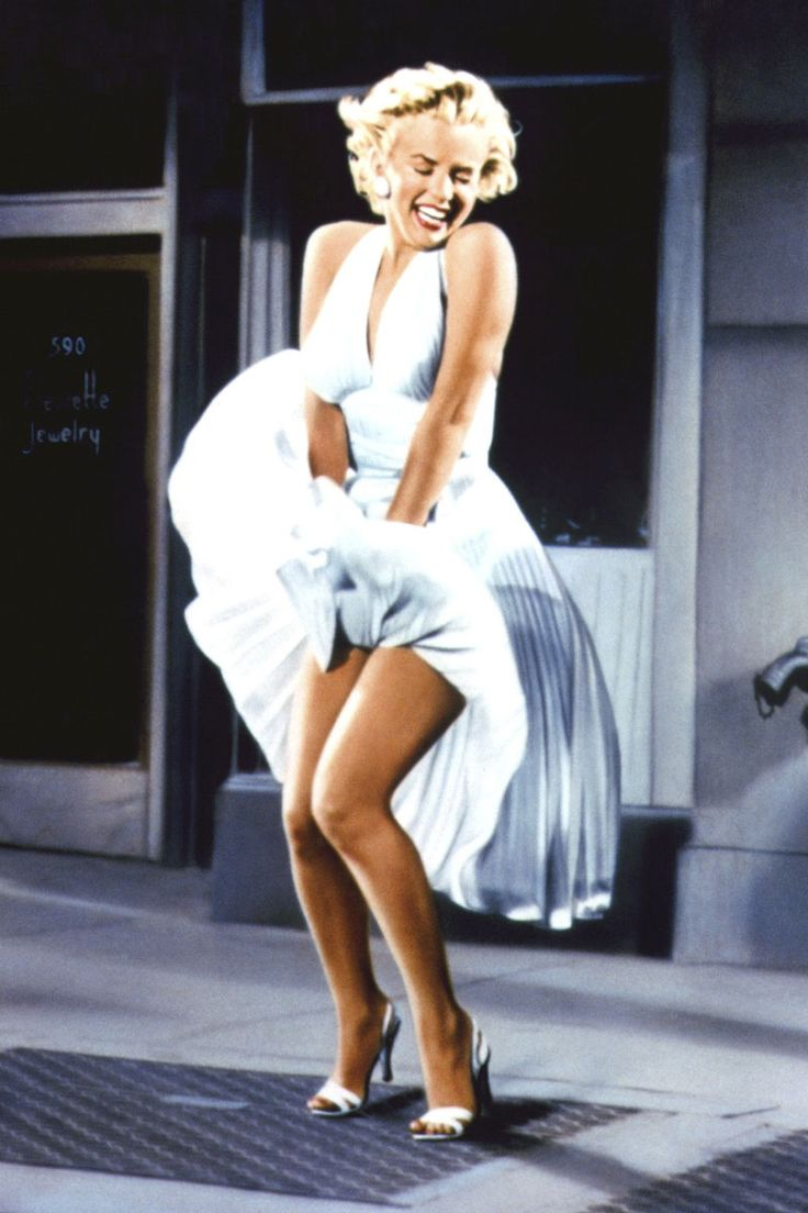 NYC… Marilyn Monroe in The Seven Year Itch