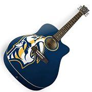 Nashville Predators Acoustic Guitar
