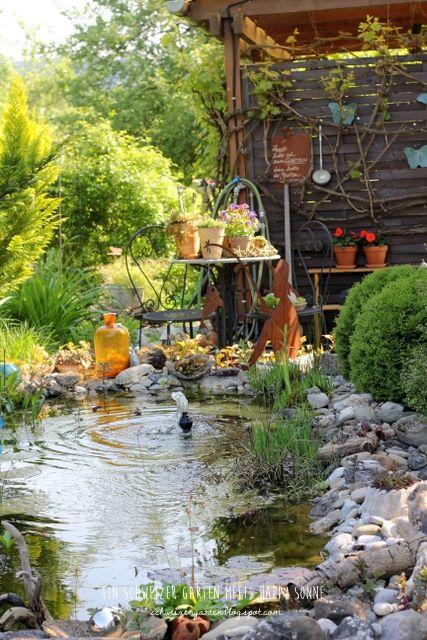 Elegant Zu+Besuch+bei+Happy+Sonne+Ein+Schweizer+Garten+