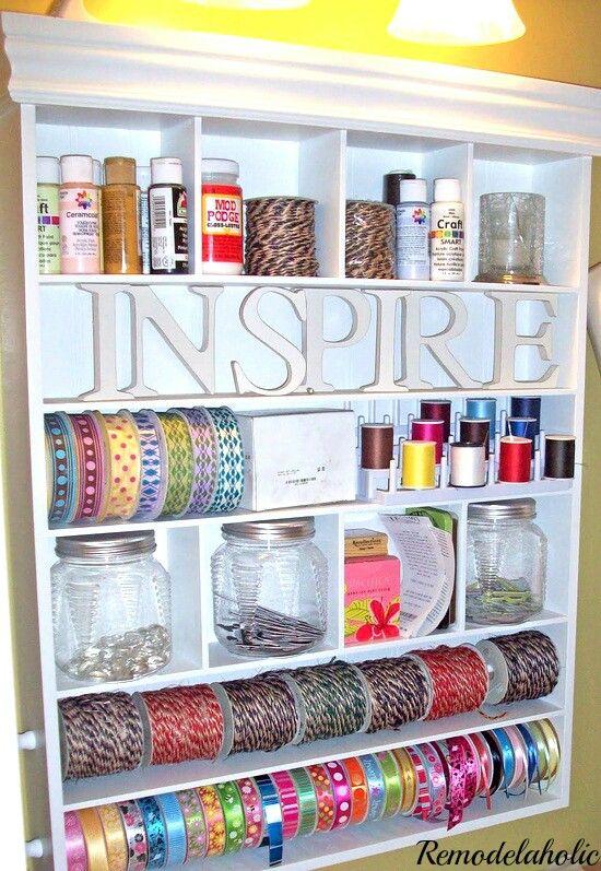 Mais de 1000 ideias sobre organiza o de sala de costura for Mueble organizador de costura