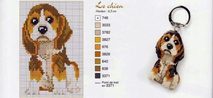 """Милые сердцу штучки: рукоделие, декор и многое другое: Вышивка крестом: """"Забавные брелоки"""""""
