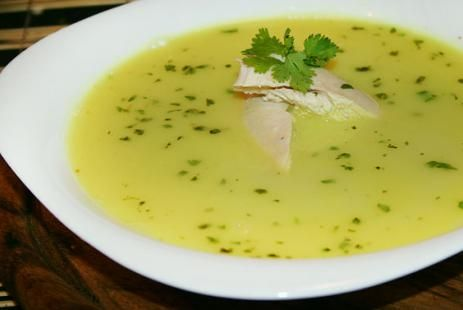 Чихиртма из курицы рецепт - грузинский куриный суп рецепт :: JV.RU