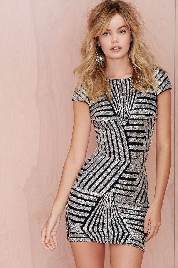 Dress the Population Tabitha Dress