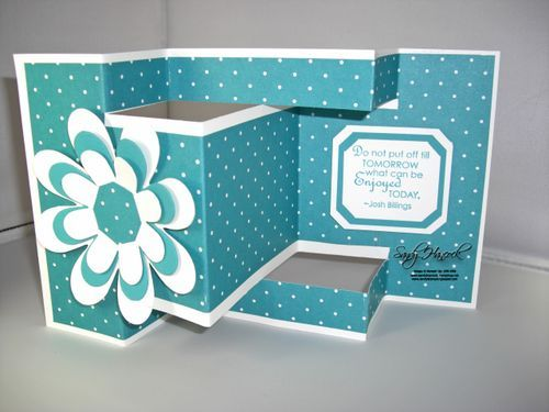 Best  Trifold Shutter Cards Ideas On   Tri Fold Cards