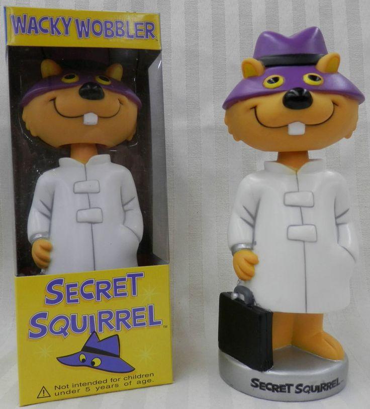 FUNKO SECRET SQUIRREL HANNA BARBERA WACKY WOBBLER  BOBBLEHEAD   | eBay