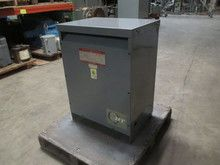 GE 45 kVA 480 Delta to 208Y/120 9T23B3873 3PH Dry Type Transformer 45kVA 480V (DW0579-1). See more pictures details at http://ift.tt/2BhzsVQ