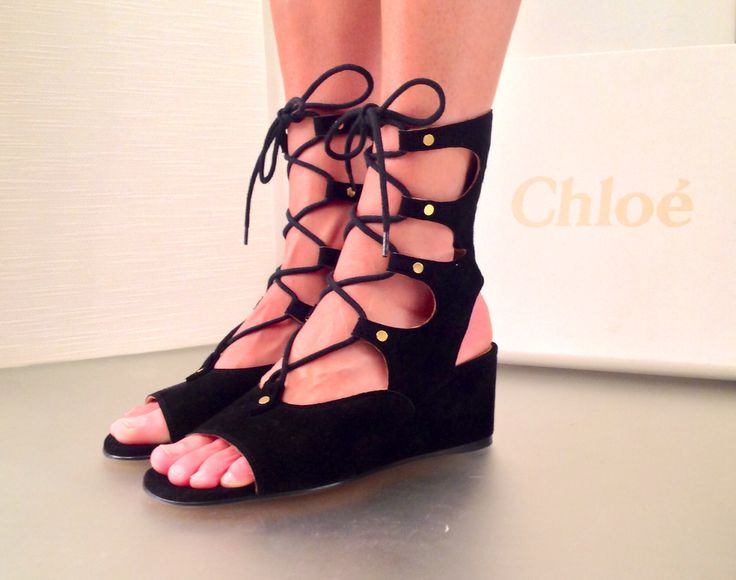 Gladiator shoes by Chloé at #ilduomonovara  www.ilduomonovara.it