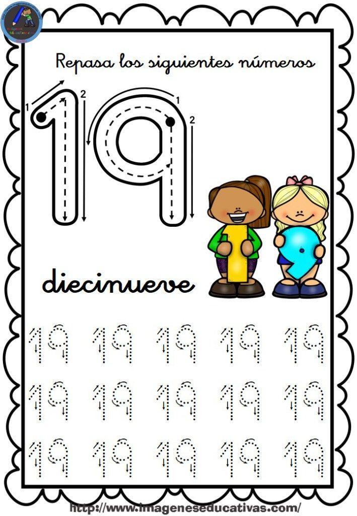 Completo Cuaderno Para Repasar El Trazo Numeros Del 1 Al 30 19 Actividades Numericas Preescolares Aprendizaje De Los Numeros Ninos De Preescolar