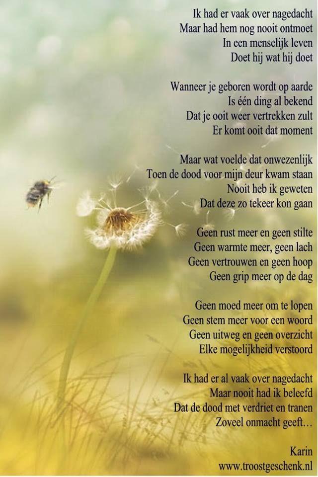 De dood www.troostgeschenk.nl